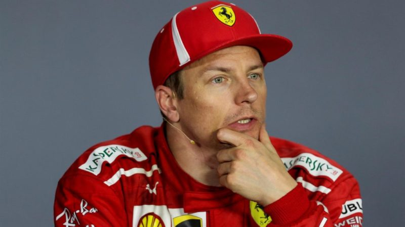 kimi Raikkonen press conference