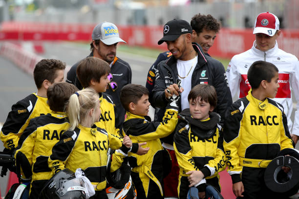 Spanish-grand-prix-hamilton-alonso-karting-kids