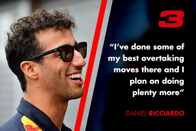 daniel Ricciardo interview about Monza