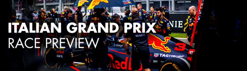 Italian Grand Prix Red Bull Racing