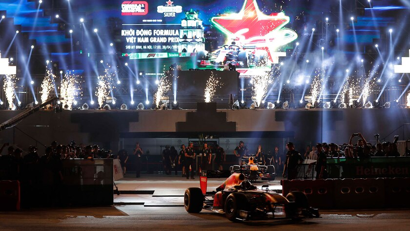 Red Bull Racing in Hanoi